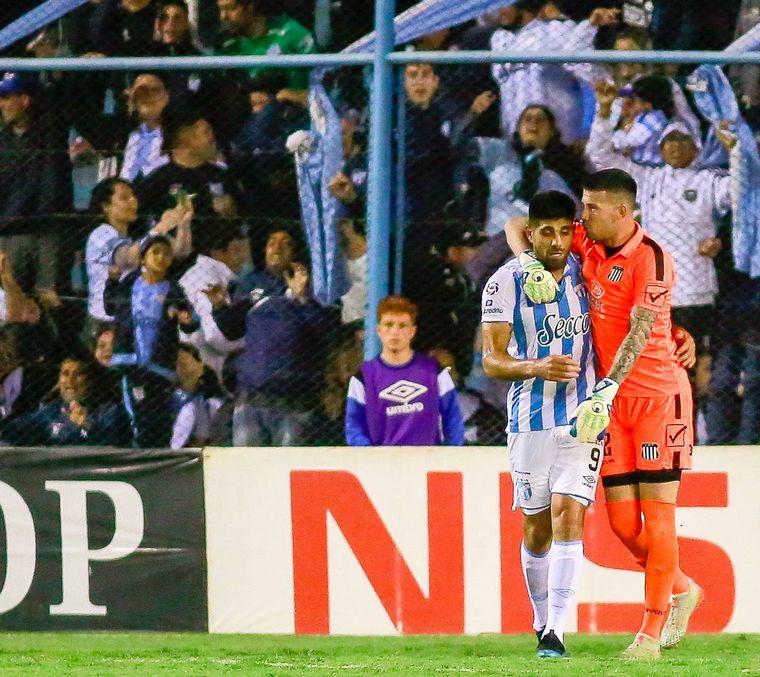 FOTO: Talleres cayó ante Atlético Tucumán.