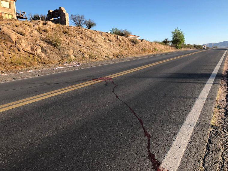 AUDIO: Un Fiat Punto embistió y mató a un hombre en Capilla del Monte.