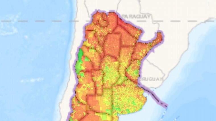 Mapa Interactivo Conoce Donde Se Vive Mejor En Argentina Noticias Cadena 3 Argentina