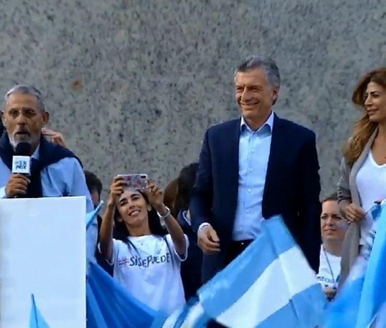 FOTO: Macri fue con la marcha del