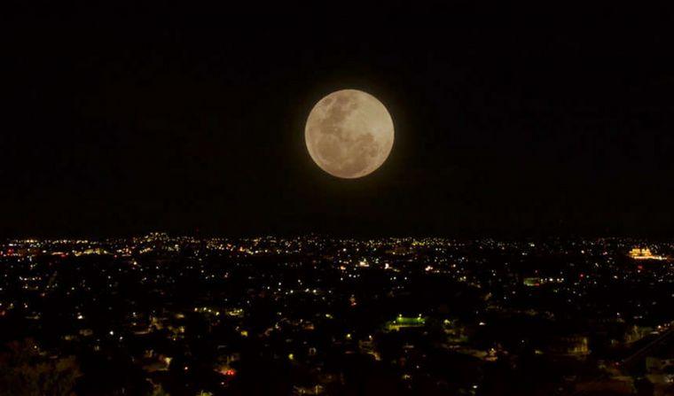 Embrujado por la Luna-tabla De Punto De Cruz