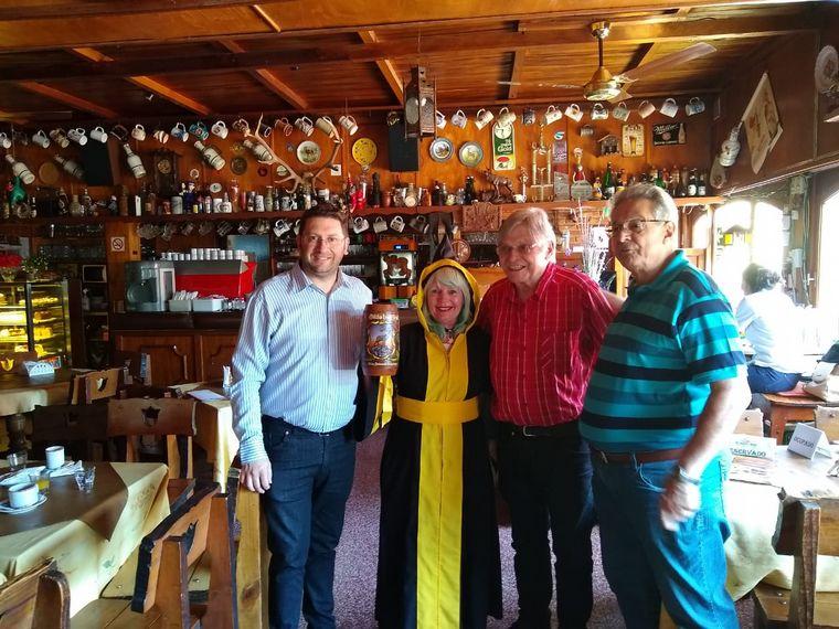 FOTO: Rony en Villa General Belgrano