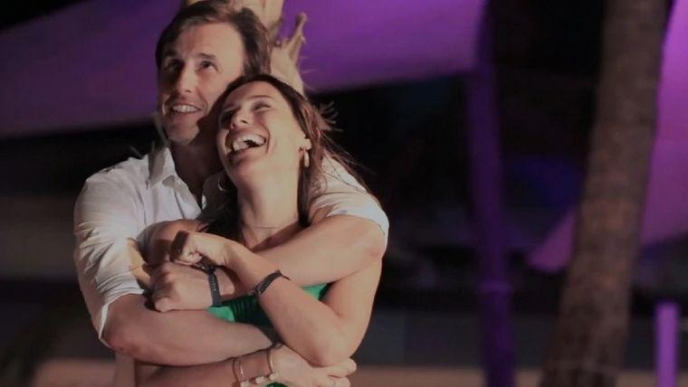 """FOTO: Pampita reveló cuál fue la """"locura de amor más grande"""" que hizo por su marido."""