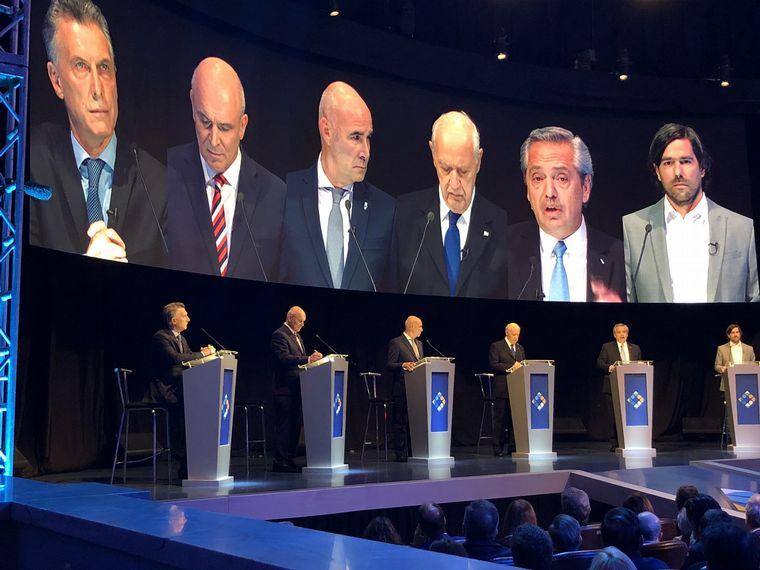 AUDIO: Comenzó el debate presidencial en Santa Fe (Informe de M. Arrieta)