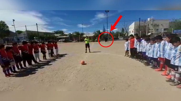 AUDIO: Tiroteo en un partido de fútbol infantil en Neuquén (Diego Sánchez, vecino).