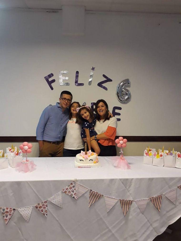 FOTO: Olivera, quien donó el riñón.