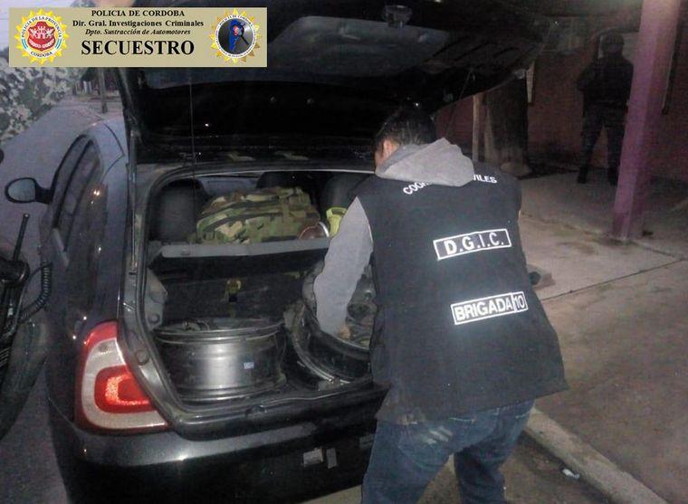 AUDIO: Cayó una banda de roba autos que operaba en cuatro provincias (Por Francisco Centeno)
