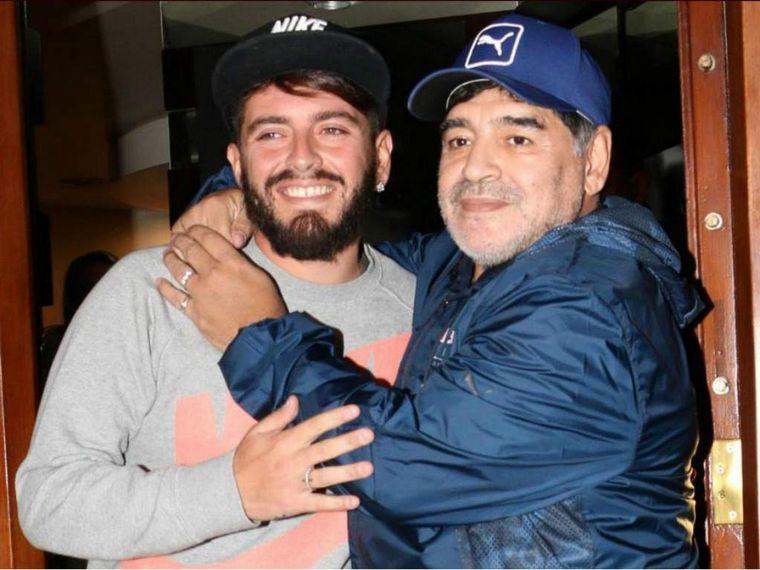Nació la hija de Diego Maradona Junior y Nunzia Pennino