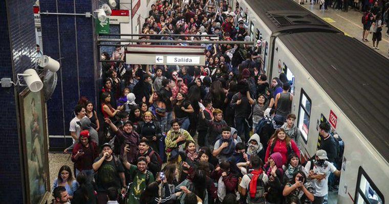 FOTO: Incidentes en Chile