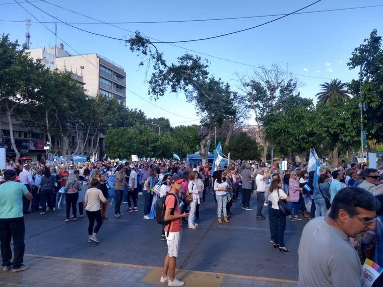 FOTO: La marcha del millón en Tucumán.