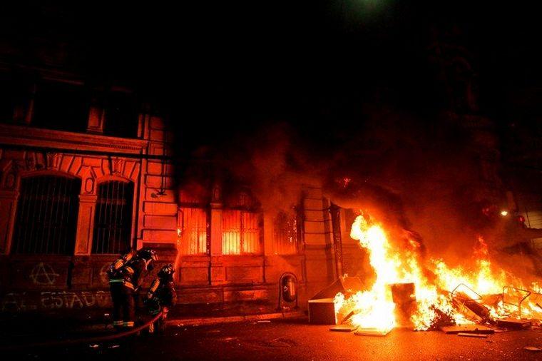 FOTO: Se agrava la crisis en Chile