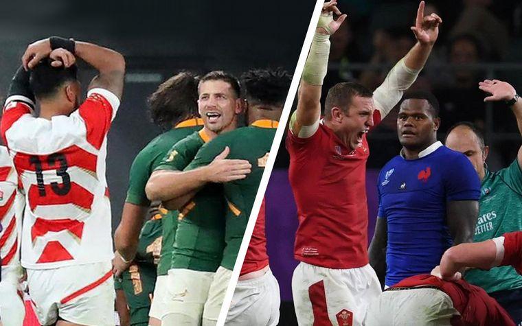 Inglaterra y Nueva Zelanda ganaron y pasaron a semis