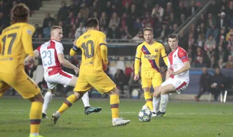 FOTO: Messi abrió el marcador para el triunfo de Barcelona (Foto: @FCBarcelona_es)