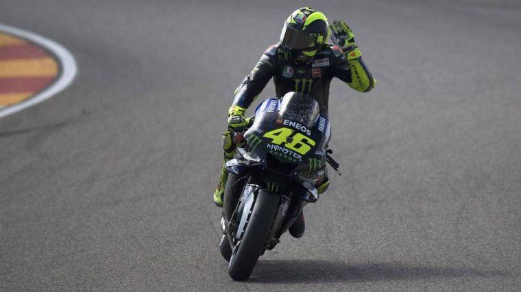 FOTO: Valentino Rossi y su nuevo hito: 400 GP mundiales