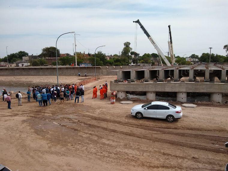 AUDIO: El puente conecta Circunvalación con la Terminal en 6' (Por Rony Vargas)