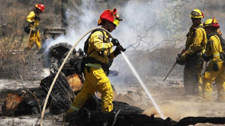 FOTO: Incendios en California