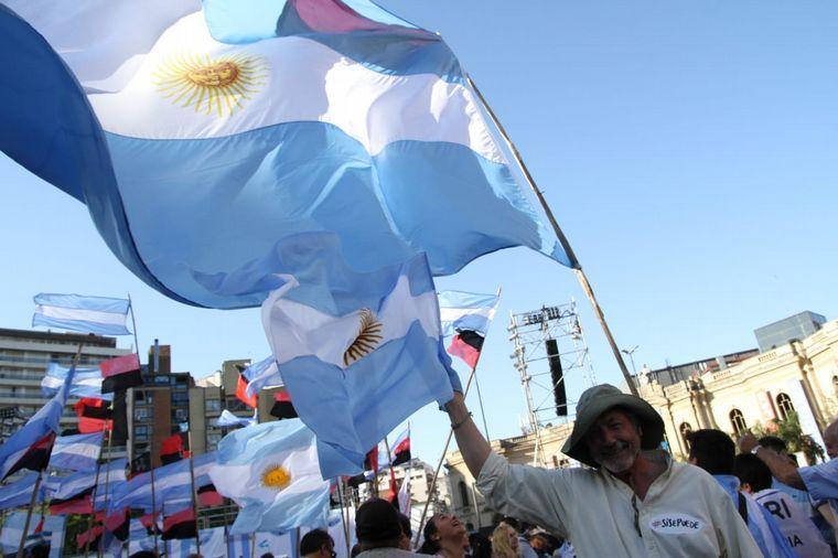 FOTO: Cierre de campaña Mauricio Macri en Córdoba