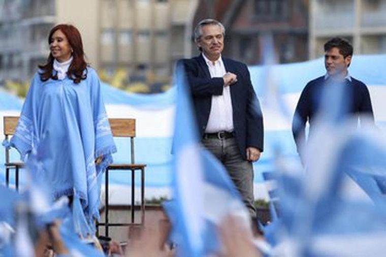 FOTO: Cierre de campaña Fernández Fernández en Mar del Plata