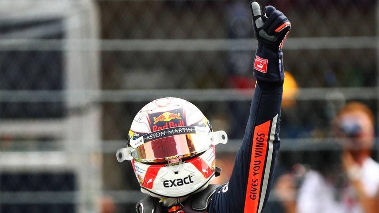 FOTO: La vuelta de la pole de Verstappen en el Hnos. Rodríguez fue espectacular
