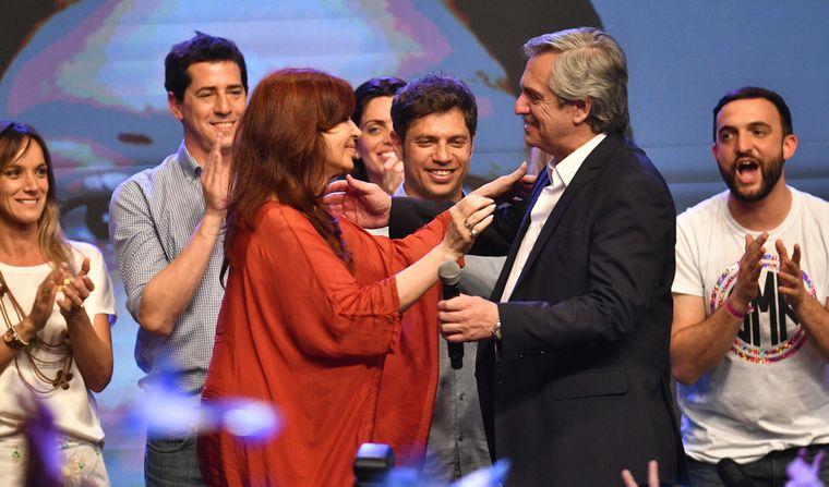 AUDIO: Escrutinio definitivo: Alberto Fernández ganó por 8 puntos