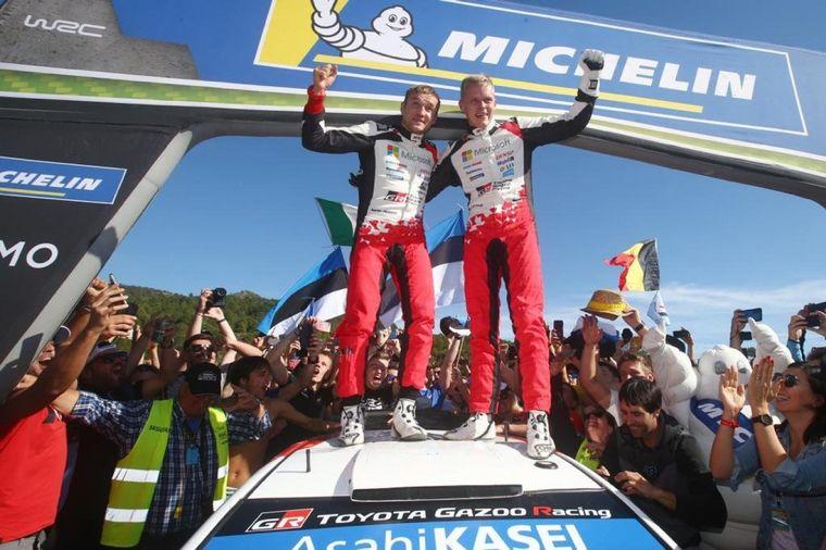 FOTO: El estonio consiguió ser firme en las carreras que definieron el WRC