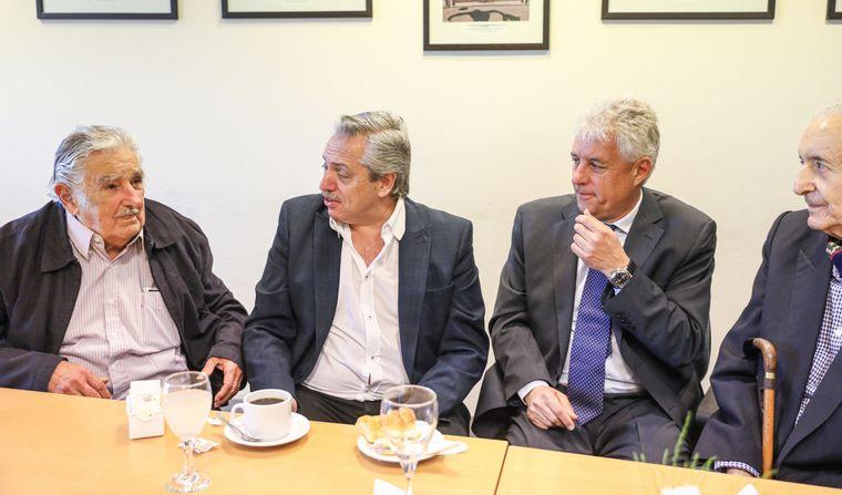 'Pepe' Mujica y Alberto Fernández debatieron sobre capitalismo en la UNTREF