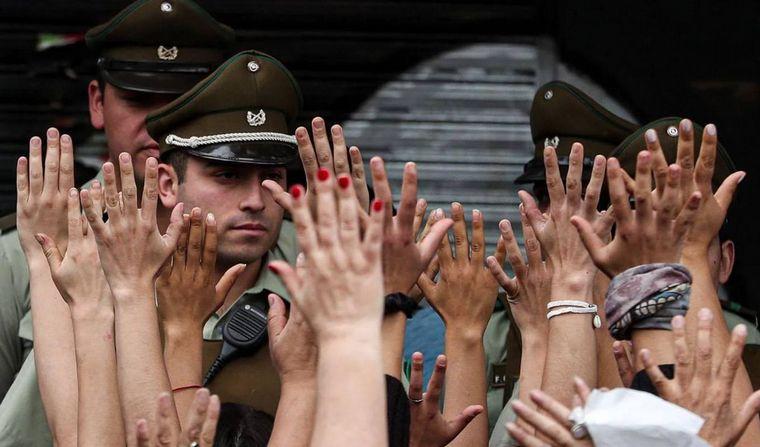 AUDIO: Una multitud en una nueva marcha en Chile (Por Angie Gatica)