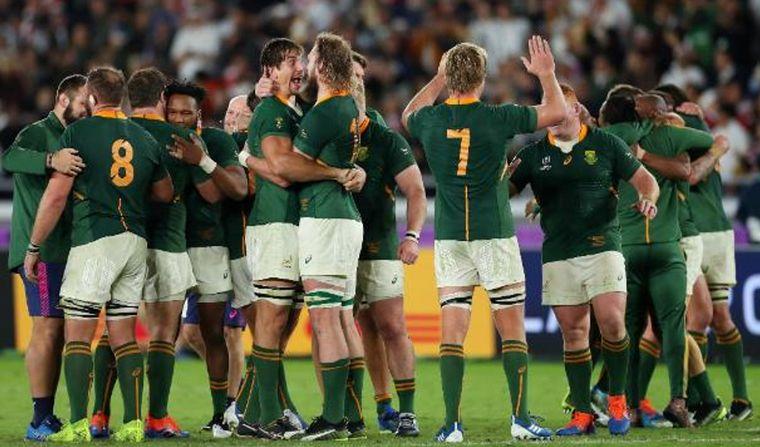 FOTO: Sudáfrica campeón del mundo en Rugby.