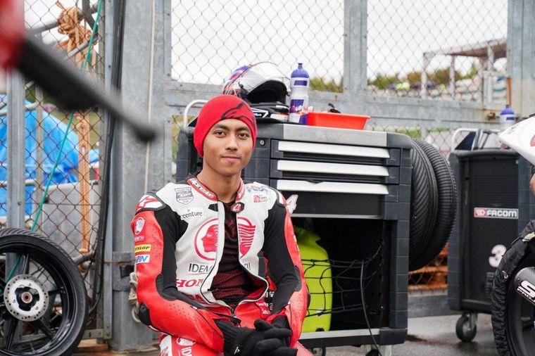 FOTO: Afridza Munandar falleció este sábado en el Circuito Internacional de Sepang