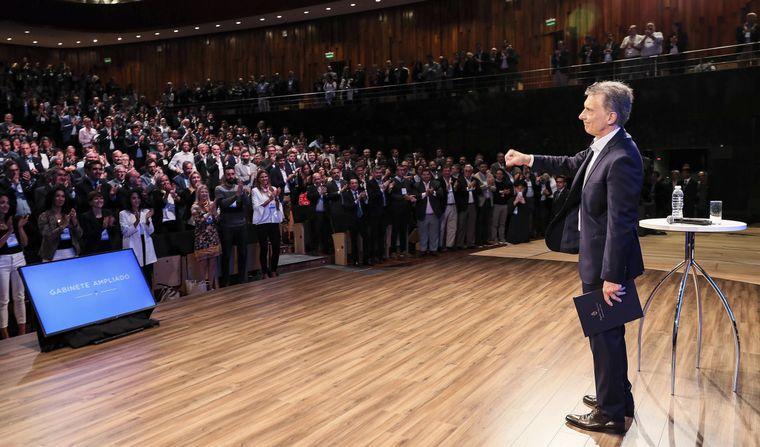 AUDIO: Macri, ante el gabinete ampliado: