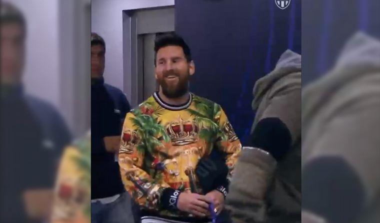 FOTO: Messi, astro en el fútbol y en la moda.