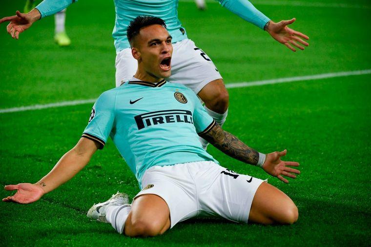 FOTO: Lautaro Martínez hizo un gol en la caída del Inter ante el Dortmund.