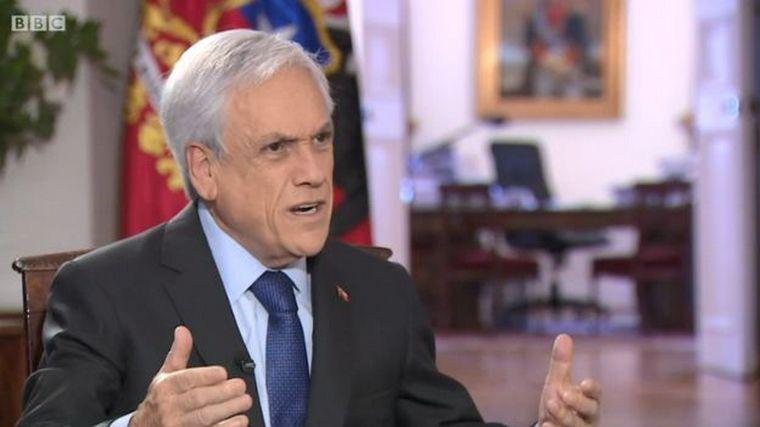 Resultado de imagem para Sebastián Piñera: 'Voy a llegar al fin de mi Gobierno'
