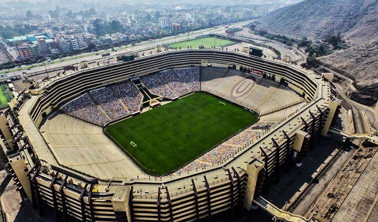 FOTO: La final será en el Estadio Monumental de Lima