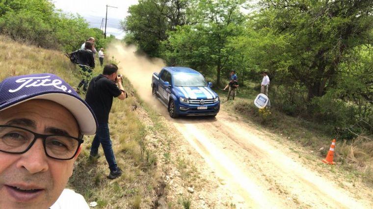 FOTO: Compartimos el día con dos capos del off-road: Nelson Benítez y Hernán Avaroa de VW