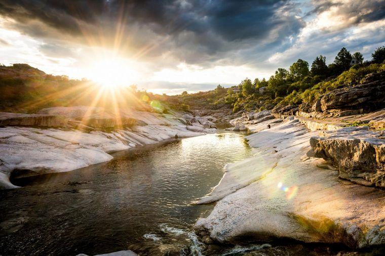 FOTO: El Río Mina Clavero, una de las 7 Maravillas Naturales