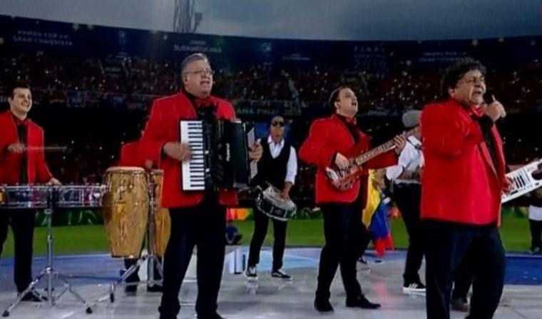 FOTO: Los Palmeras brindaron un gran show en Asunción