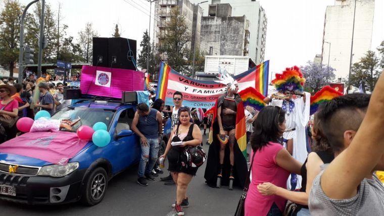 FOTO: Marcha del Orgullo Disidente.