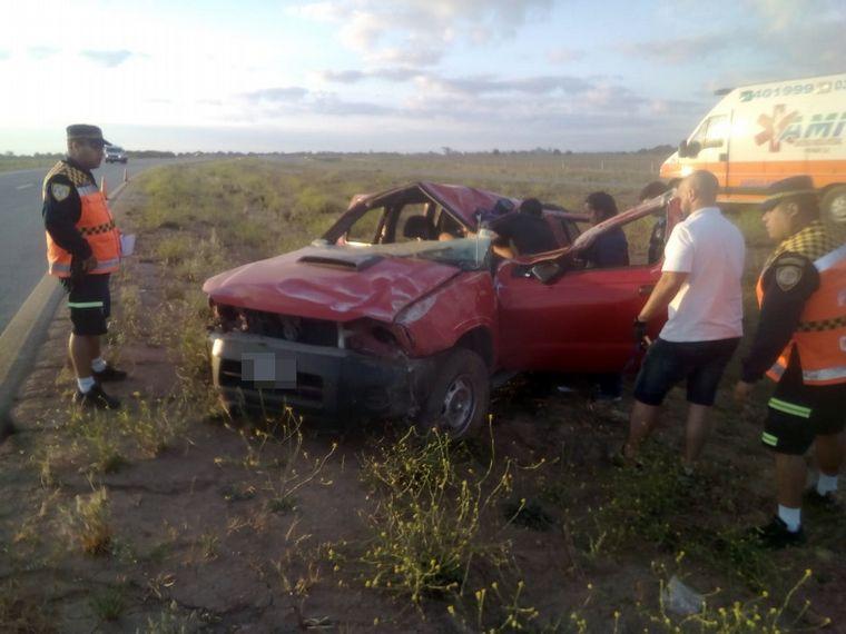 AUDIO: El conductor sufrió heridas graves (Por Francisco Centeno)