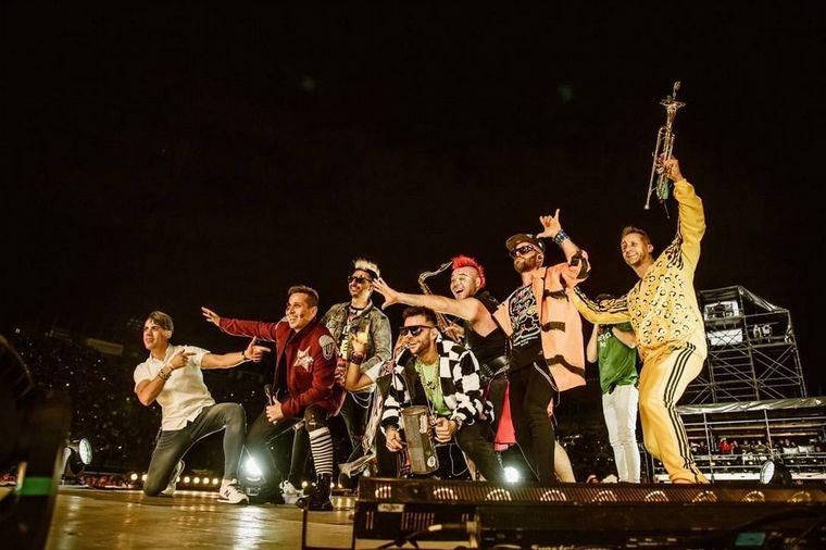 """FOTO: La banda presentó su nuevo álbum """"Salva""""."""