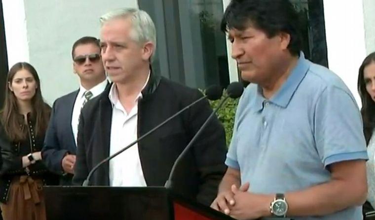 AUDIO: Evo Morales: