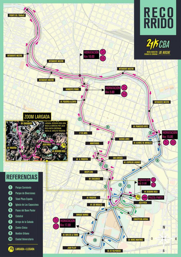 FOTO: Recorrido de la maratón 5km