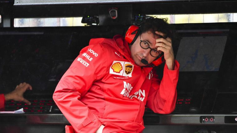 FOTO: Vettel ya rozó a Leclerc y lo deja out, también él quedará afuera