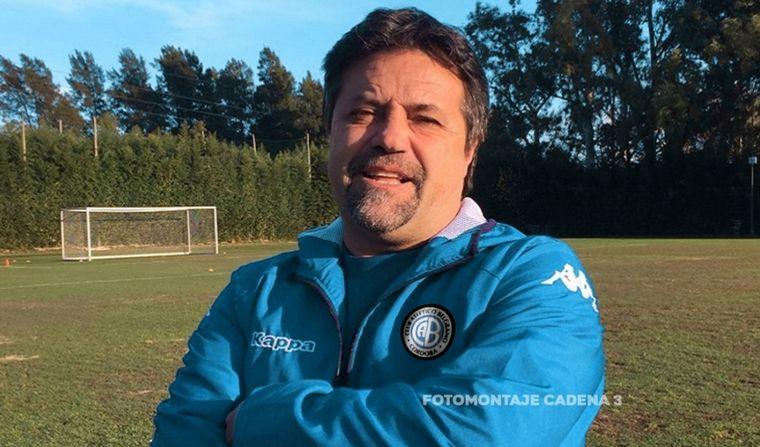 Caruso Lombardi se convirtió en el nuevo entrenador de Belgrano de Córdoba
