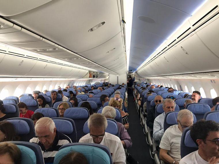 FOTO: Boeing 787/8 dreamliner.