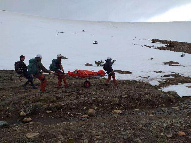FOTO: Dos mujeres se accidentaron en el Cerro Piltriquitrón