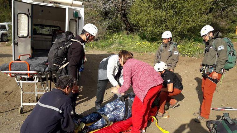 VIDEO: Cerro Piltriquitrón, dos hermanas fueron rescatadas