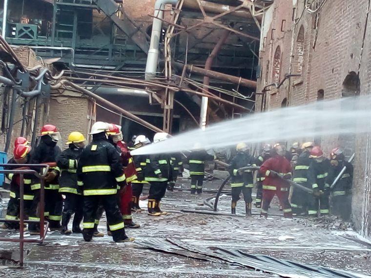 AUDIO: Incendio en un ingenio de Jujuy causó cinco víctimas fatales. (AUDIO: Elisa Zamora)