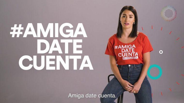 La campaña que realizó Lali Espósito para prevenir la violencia de género