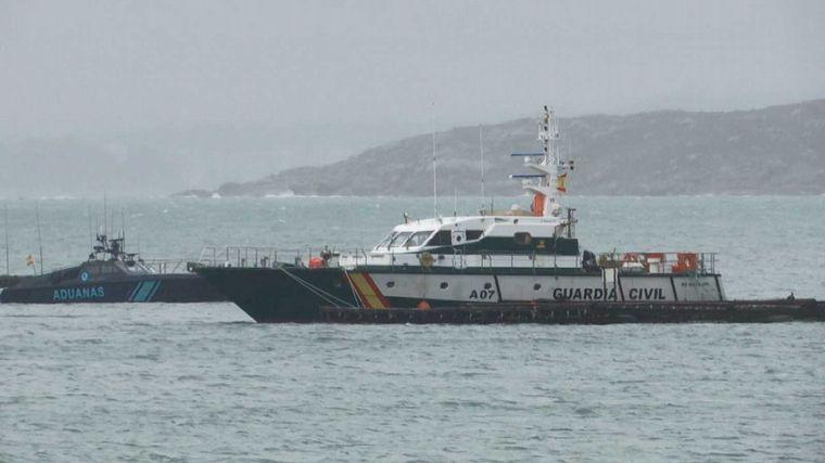 AUDIO: Interceptan narcosubmarino con tres toneladas de cocaína en España